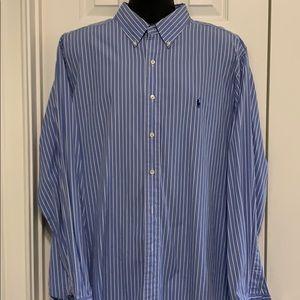 Men's Ralph Lauren Polo dress shirt.